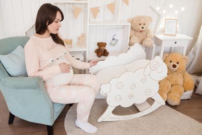 Качалка для кокона для новорожденных Зевушка фото