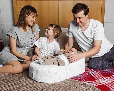 Кокон для новорожденных Зёвушка - помощник мамы