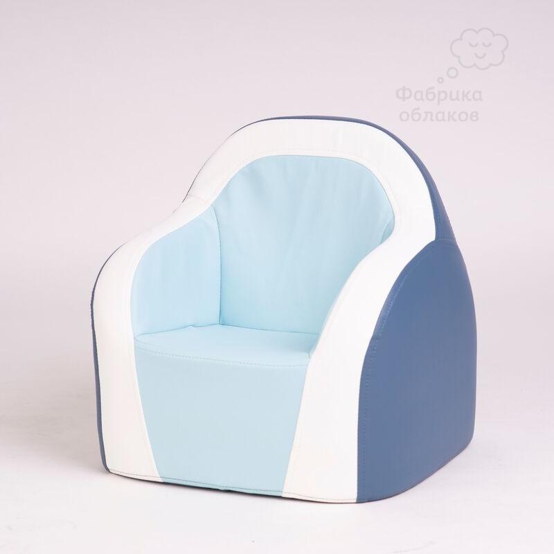 Детское кресло для дома - голубое