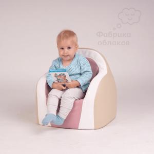 Детское кресло для дома - розовое