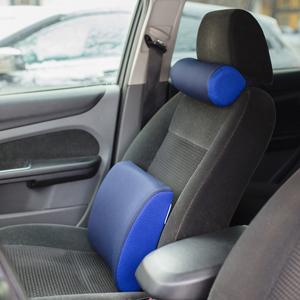 Подарок автомобилисту на 23 февраля - подушки под шею и спину